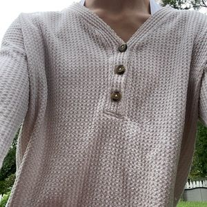 Light pink American Eagle long sleeved sweater
